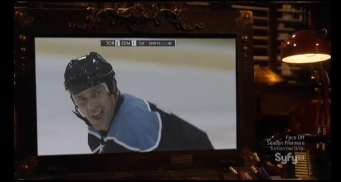 Warehouse 13 S4x05 Hockey and He is up