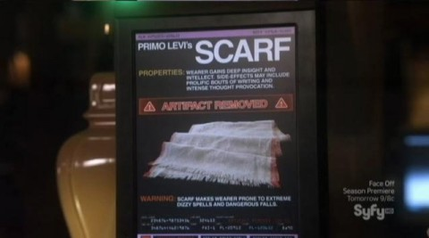 Warehouse 13 S4x05 Missing Scarf