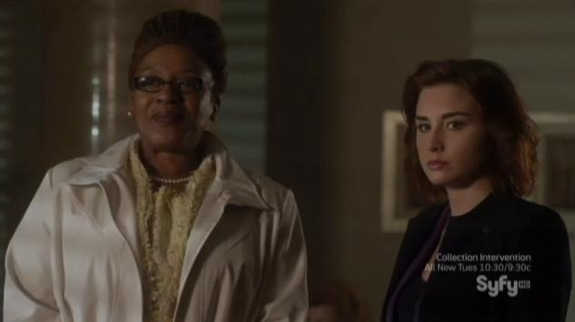 Warehouse 13 S4x05 Ms Frederic grandson