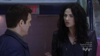 Warehouse 13 S4x05 Myka Pete Medical Ofc