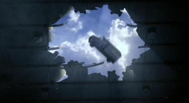 Warehouse13 S4x03 Falling truck