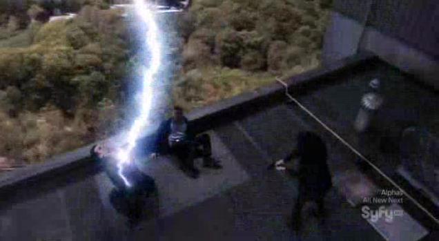 Warehouse13 S4x03 Lightning strikes