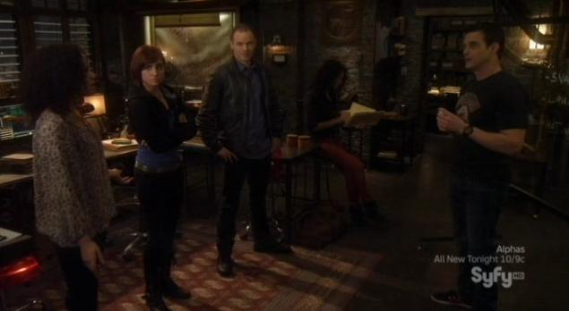 Warehouse13 S4x03 the gang