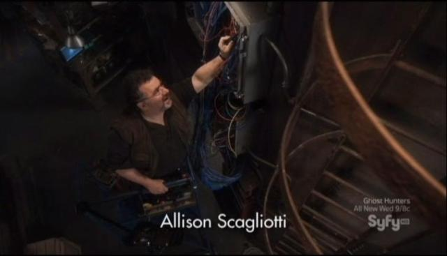 Warehouse 13 S4X07 Artie and wires