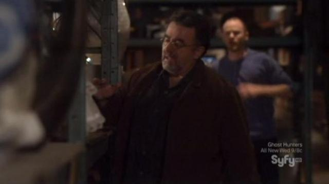 Warehouse 13 S4X07 Artie discovers missing thimble