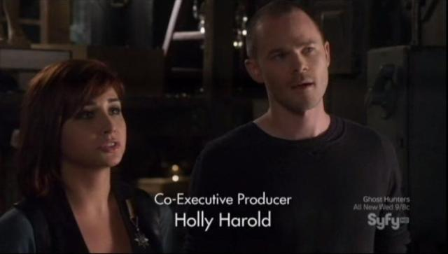 Warehouse 13 S4X07 Claudia and Steve 1
