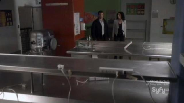 Warehouse 13 S4X07 Cleaned out class