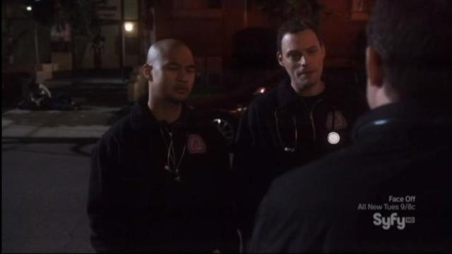 Warehouse 13 S4X07 Pete distracts emt