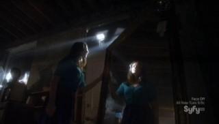 Warehouse 13 S4x06 Kristen Mirror