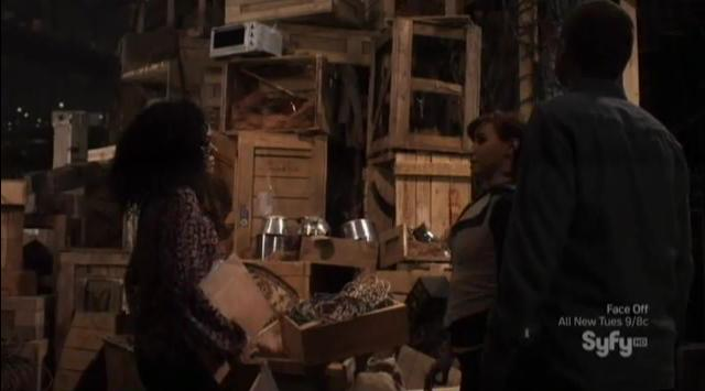 Warehouse 13 S4x06 WH13 Mess