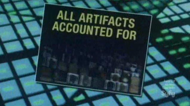 Warehouse 13 S4x09 3 All Artifacts Accounted For