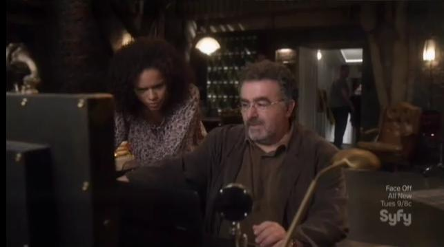 Warehouse 13 S4x09 3 Artie Leena Warehouse13