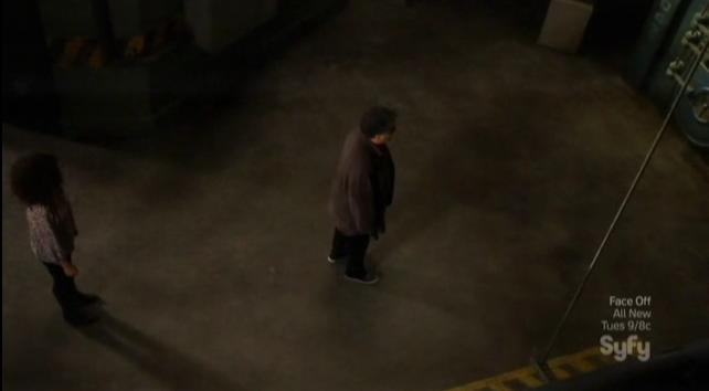 Warehouse 13 S4x09 Artie all alone