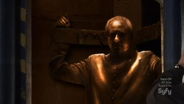 Warehouse 13 S4x09 Brother Adrian Bronze