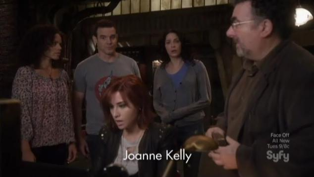 Warehouse 13 S4x09 In warehouse office