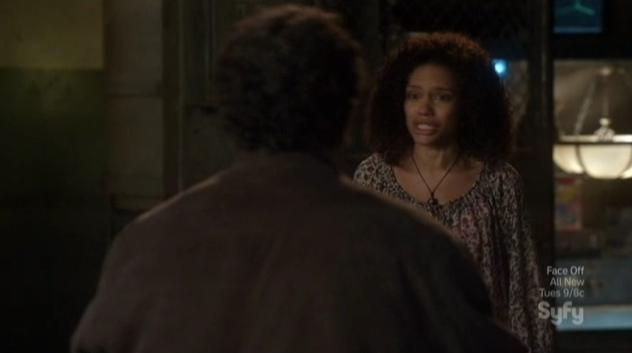 Warehouse 13 S4x09 Leena pleads Artie