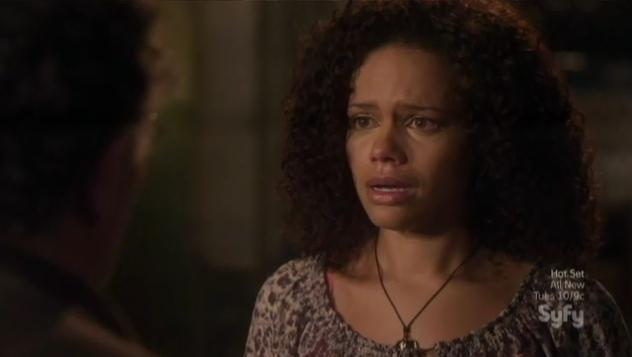 Warehouse 13 S4x09 Leena your in my way