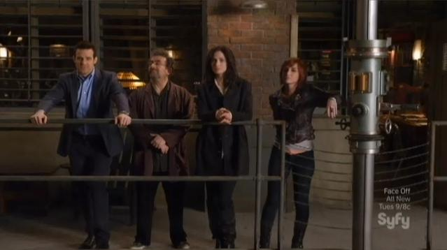 Warehouse 13 S4x09 Pete Artie Myka Claudia WH13