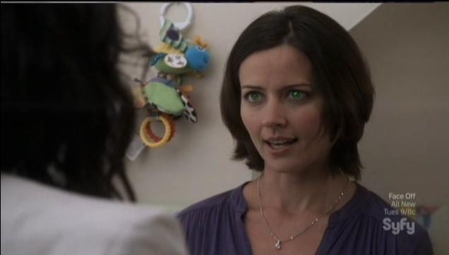 Warehouse 13 S4x09 Tracy Glowing Eyes