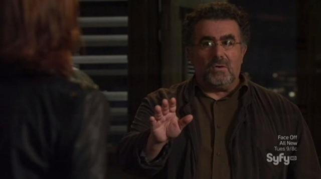 Warehouse 13 S4X10 Artie appears