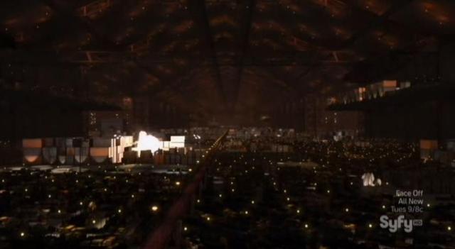 Warehouse 13 S4X10 Explosion