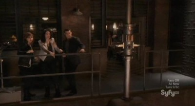 Warehouse 13 S4x10 - Artie could still be in there