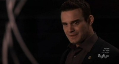 Warehouse 13 S4x10 - Pete is upset too over what Artie has become